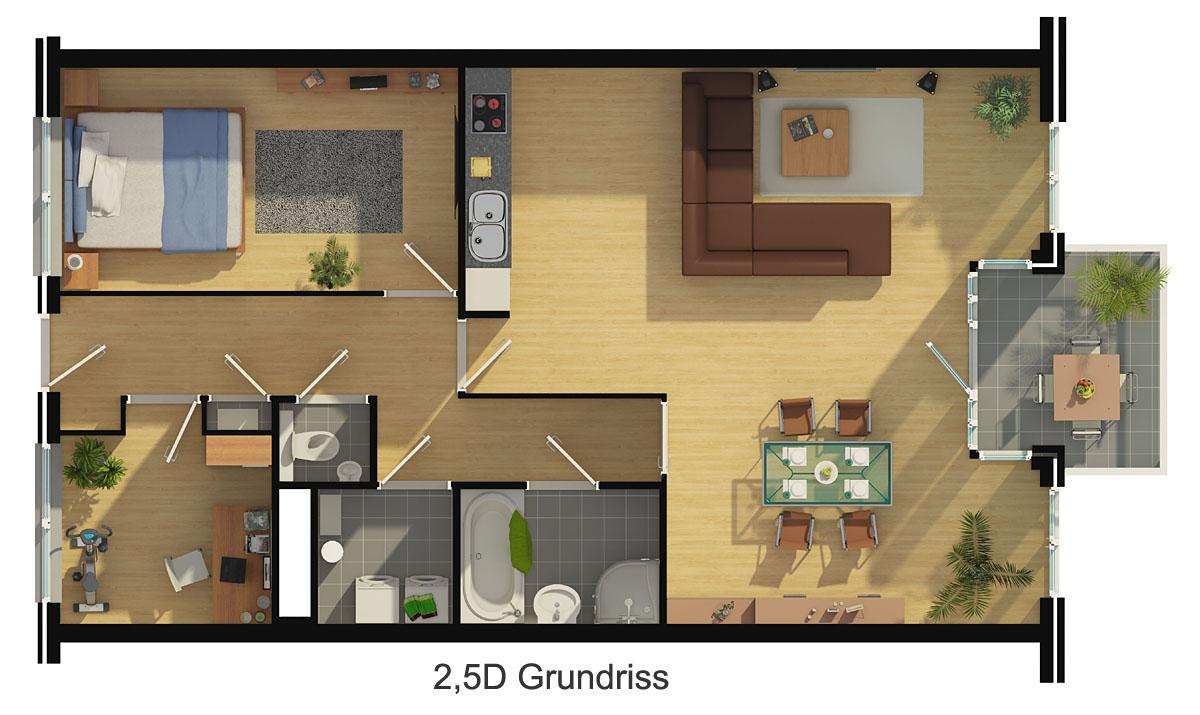 grundriss zeichnen ihr haus in 3d beste qualit t zum besten preis. Black Bedroom Furniture Sets. Home Design Ideas