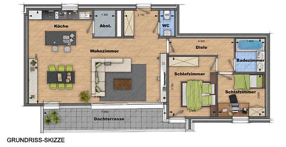 Haus Grundriss Zeichnen Plan Haus Zeichnen Einfacher Grundriss