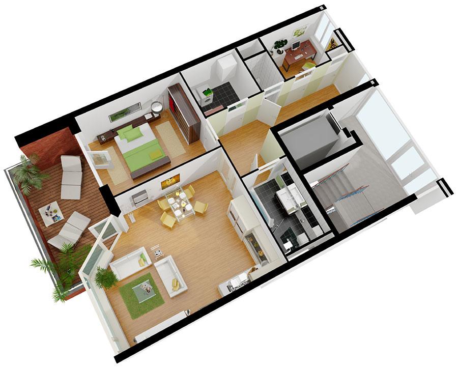 3d visualisierung beste qualit t zum besten preis for Plattegrond van je huis maken